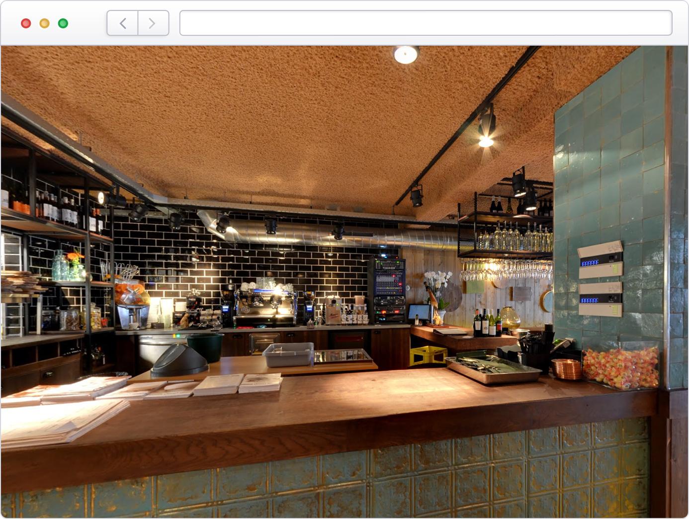 Virtuele tour van uw restaurant op Google