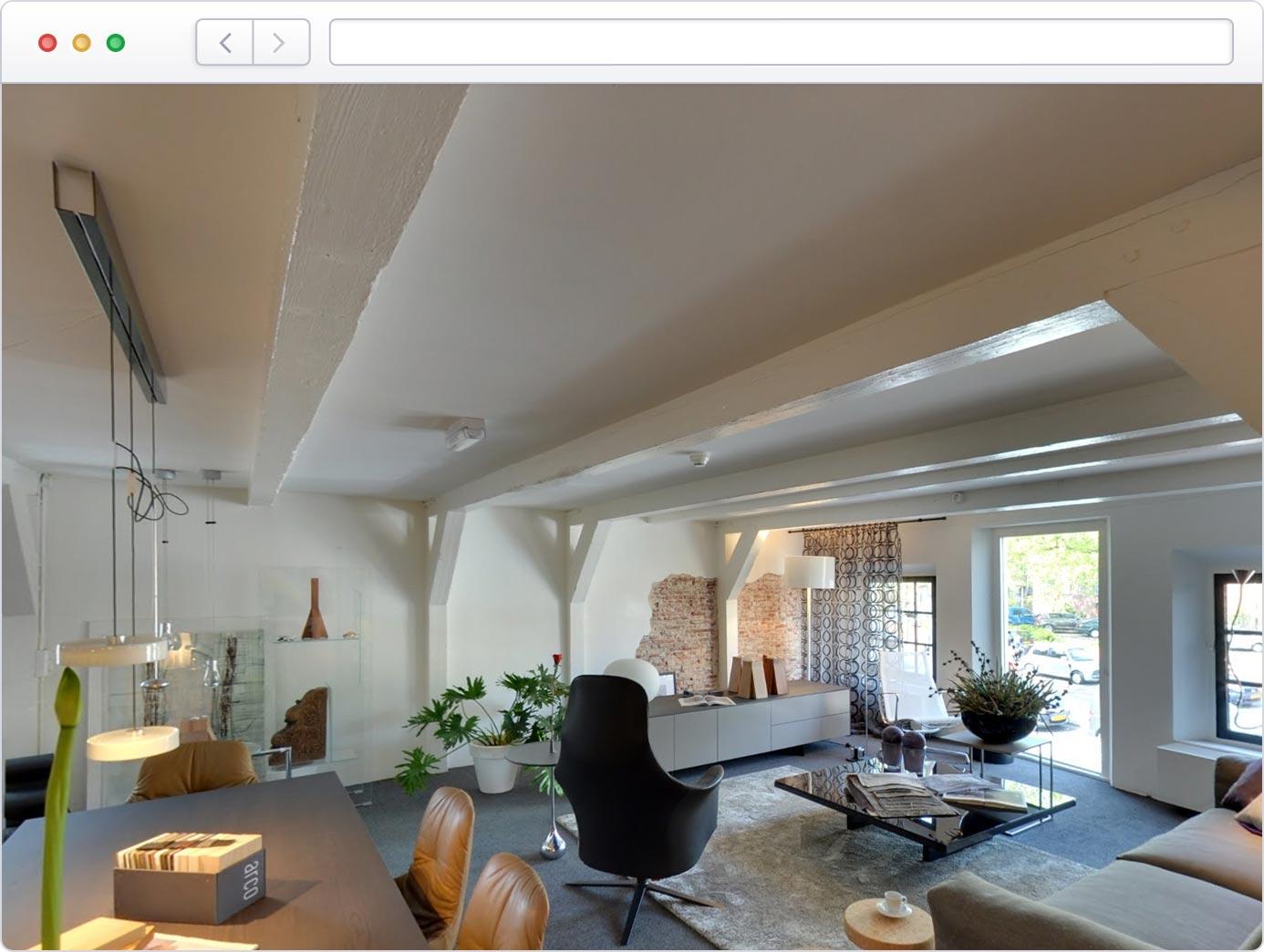Virtuele tour van uw appartement op Google