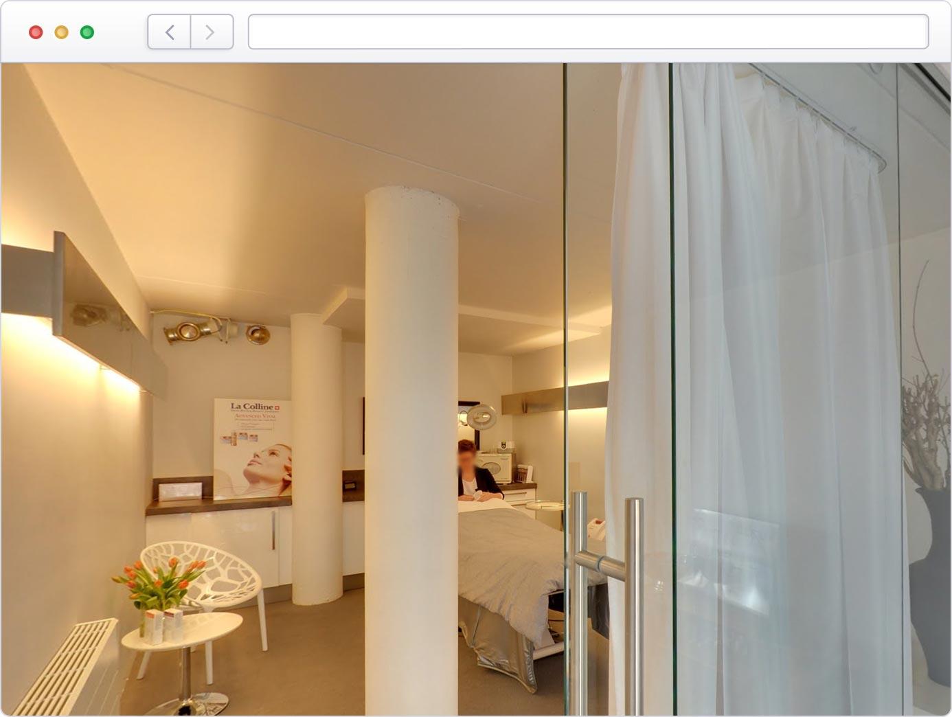 Virtuele tour van uw beautysalon op Google