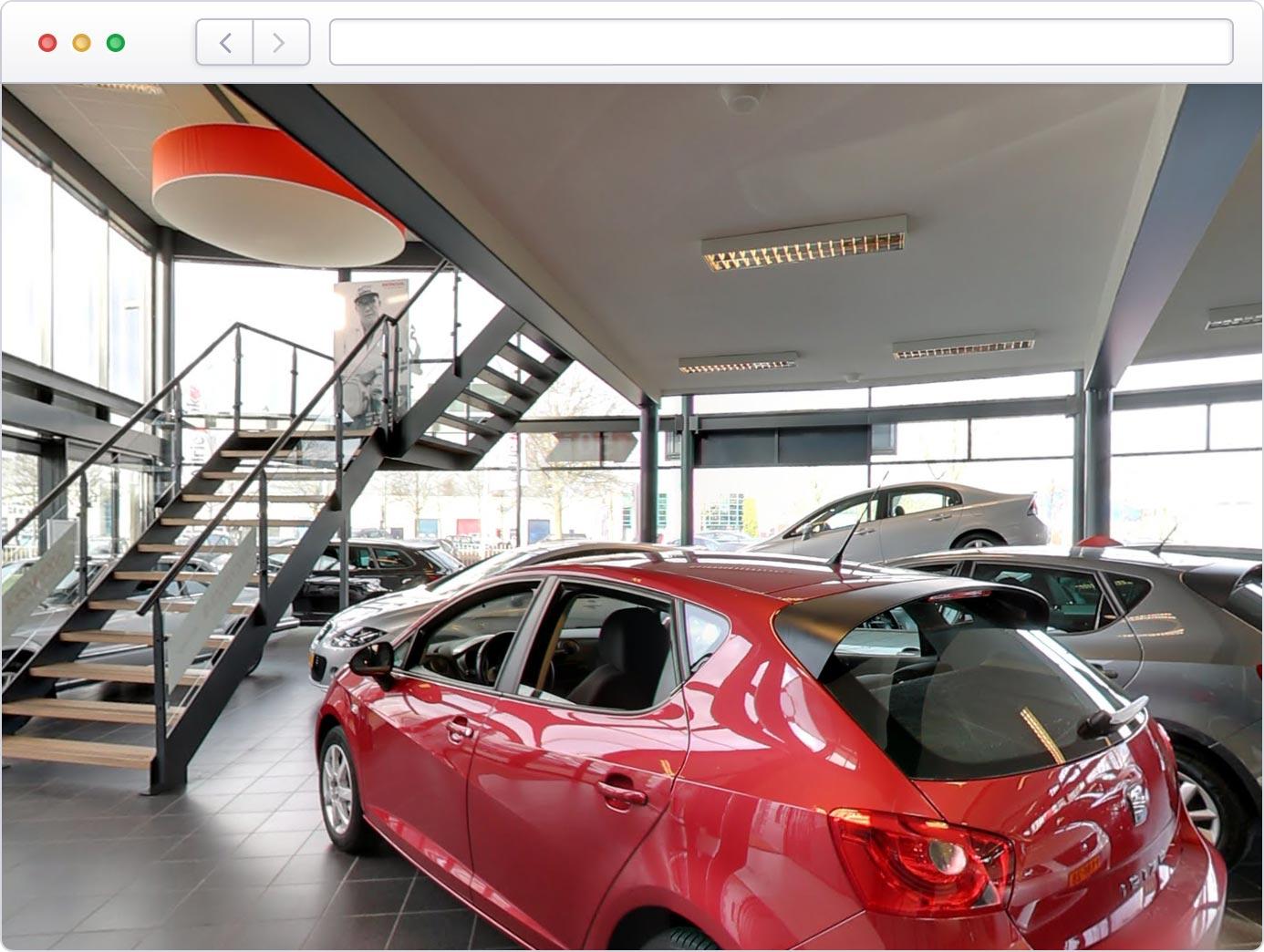 Uw virtuele showroom op Google