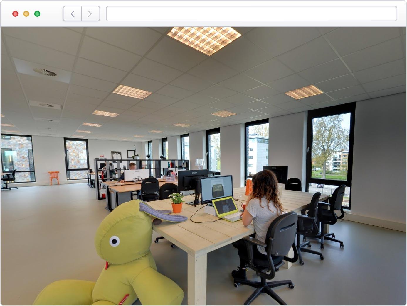 Bedrijfsimpressie op Google Business View