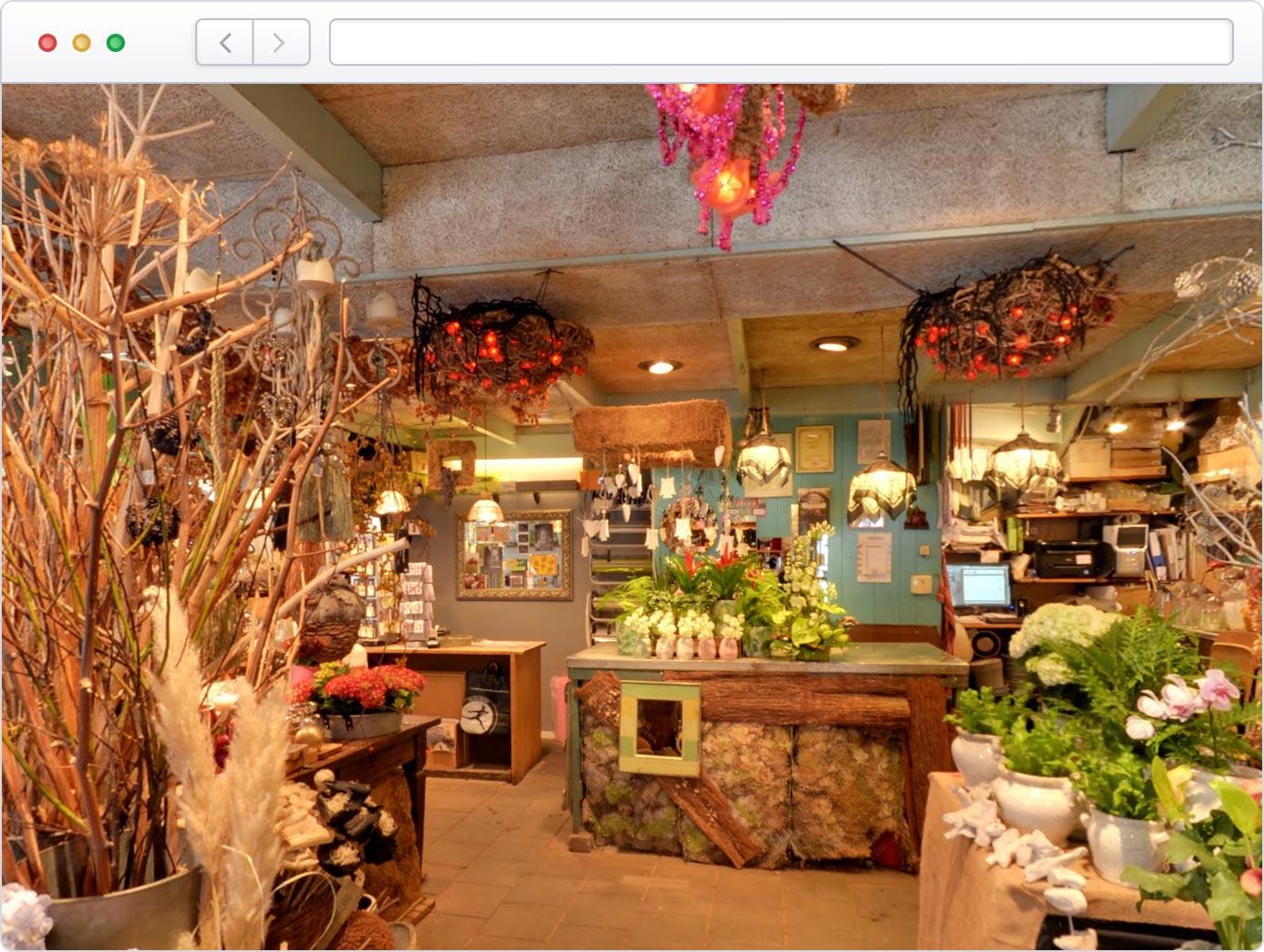 Virtuele tour van uw winkel op Google