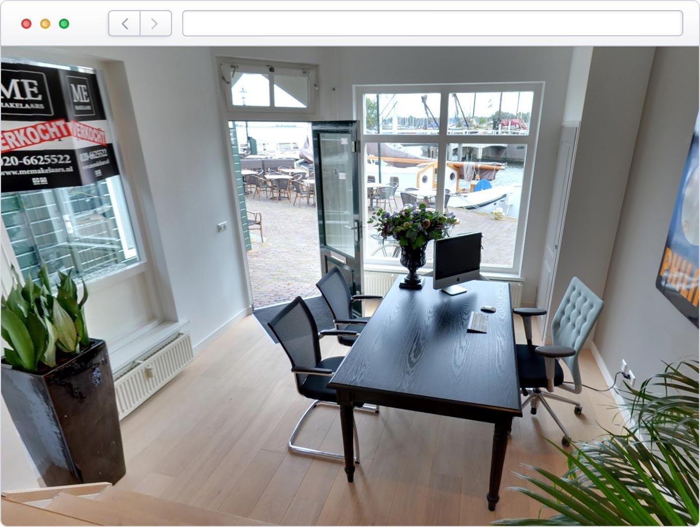 Virtuele tour van uw bureau op Google