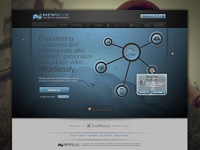 2012 NBI Interactive Home Page Concept