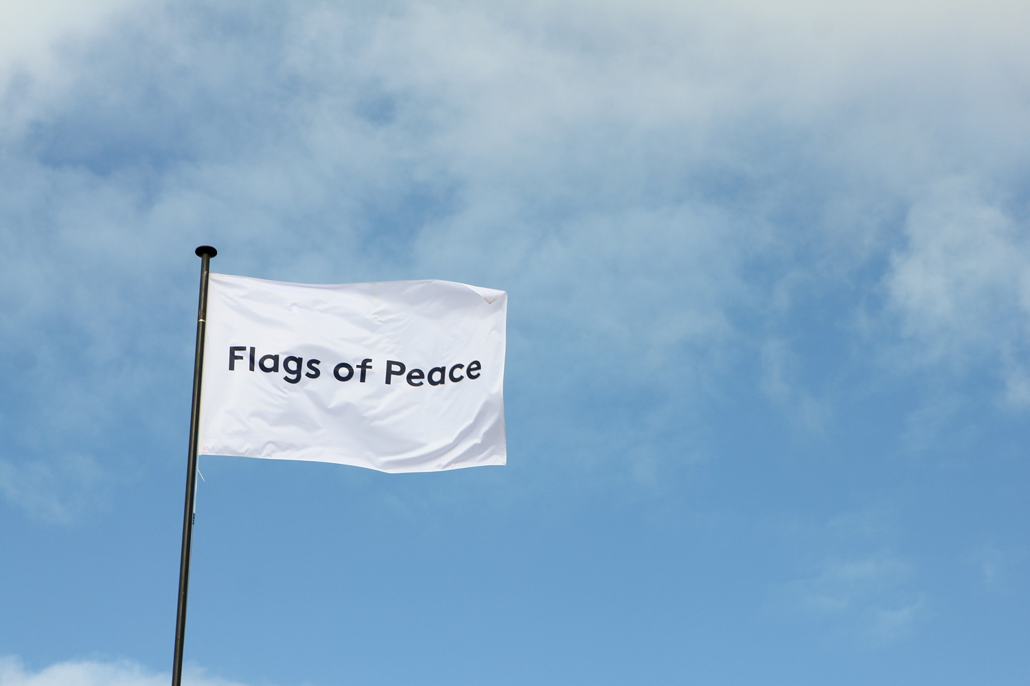Flags of peace creating an international visual dialogue on peace from 16th june until 22nd october 2017 flags of peace will be exhibited in breda the netherlands during the 350 year celebration of vrede van breda biocorpaavc Image collections