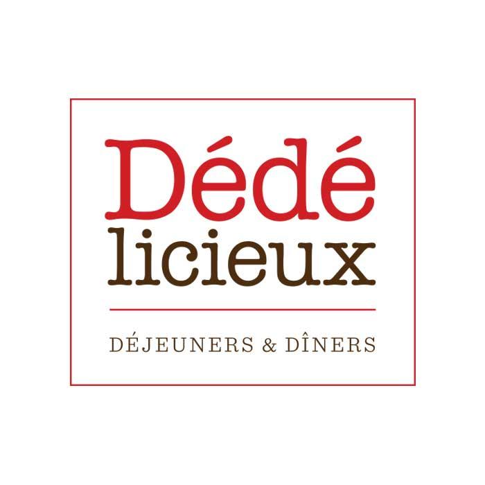 Restaurant Dédélicieux conception logo web
