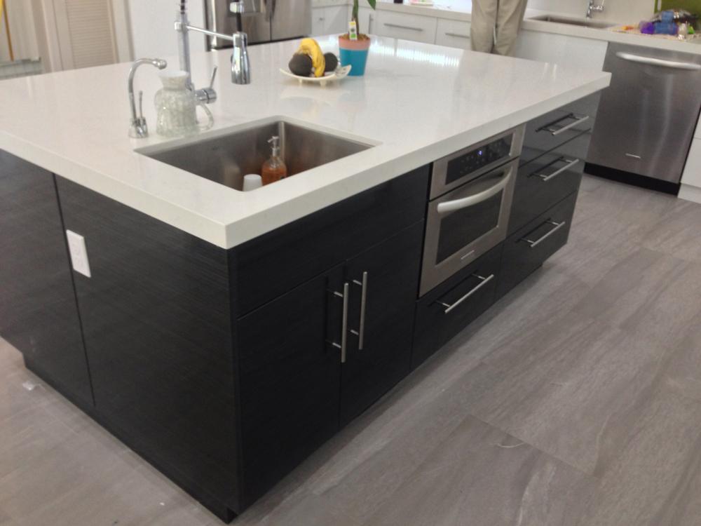 High Gloss White Acrylic Kitchen