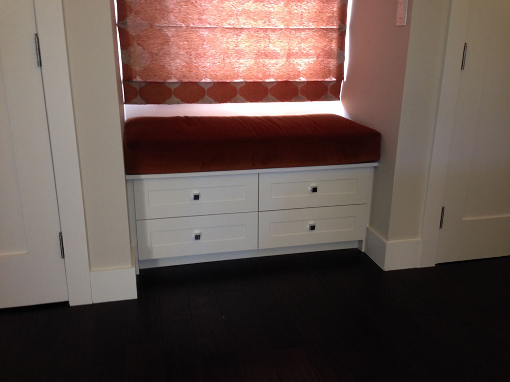 Sette With 4 Drawers In Satin Lacquer