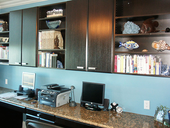 Wenge Thermofoil Home Office