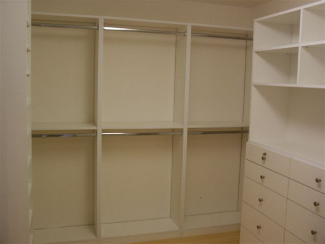 Formaldahyde Free Melamine Closets
