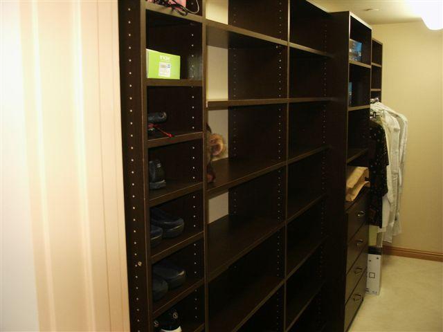 Wenge Melamine Closets