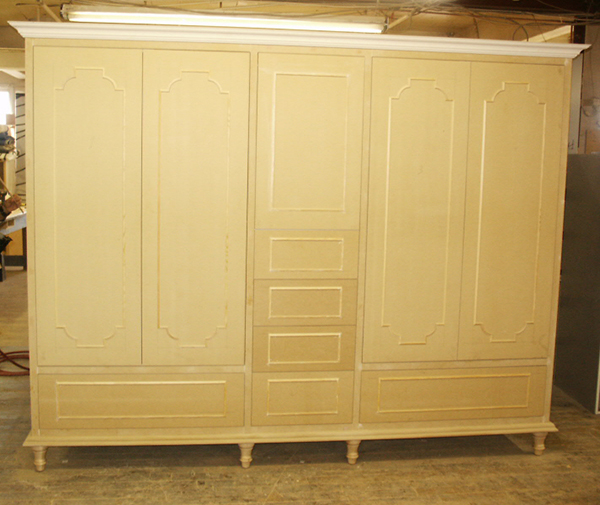 MDF Armoire In Progress