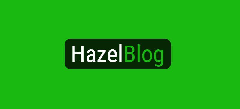 Author: HazelBlog Staff Article: Hazel Technologies debuts HazelBlog