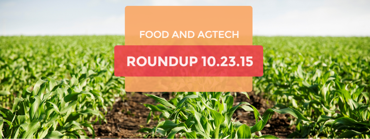food waste and ag tech  news round up