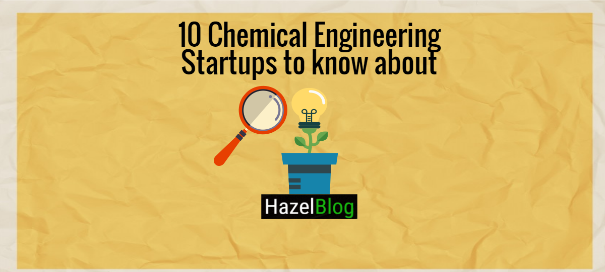 HazelBlog Article Banner: Cliff Notes: 10 Startups to Watch from Chemical Engineering News