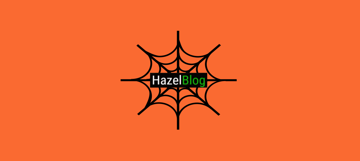 HazelBlog Article Banner: 5 Tips to Cut Food and Energy Waste at the Office & at Home this Halloween