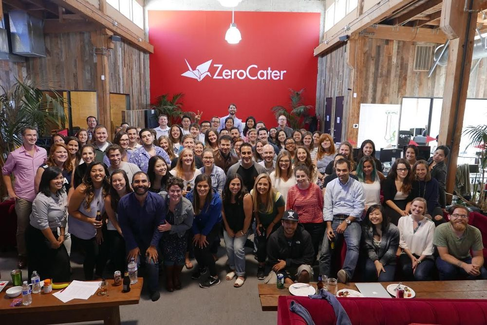 Foodtech Startup ZeroCater offices and employees in San Francisco