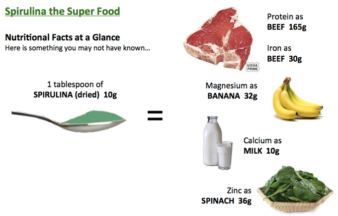 Spirulina the SuperFood: Nutritional Facts at a Glance