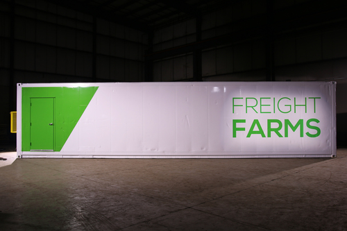 Freight Farms container