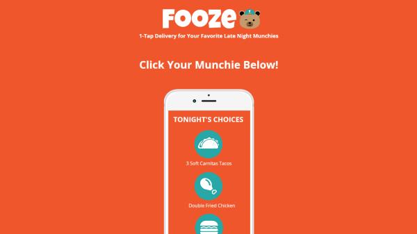 Fooze  Food Technology Startup