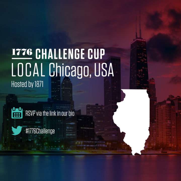 The 1776 Challenge is a global showcase of early stage startup talent. The next round of pitching is