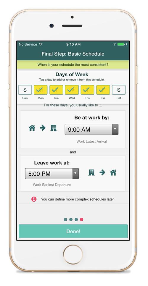 SPLT is a ridesharing app for enterprise employees
