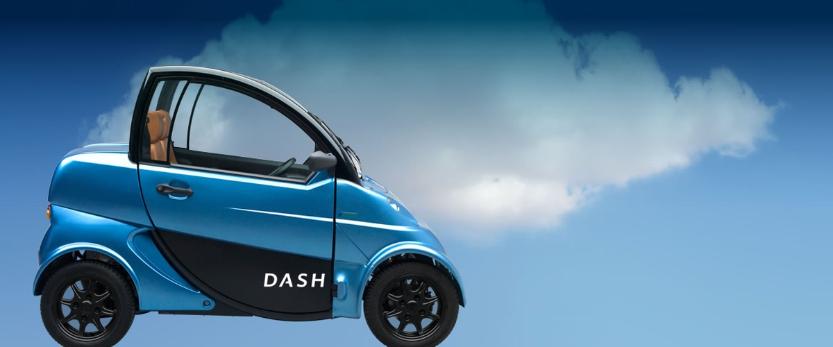 The Dash developed by InnovaEV is a 100% electric powered vehicle