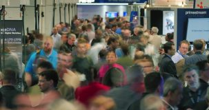 Trade shows allow exhibitors to share service and product advancements