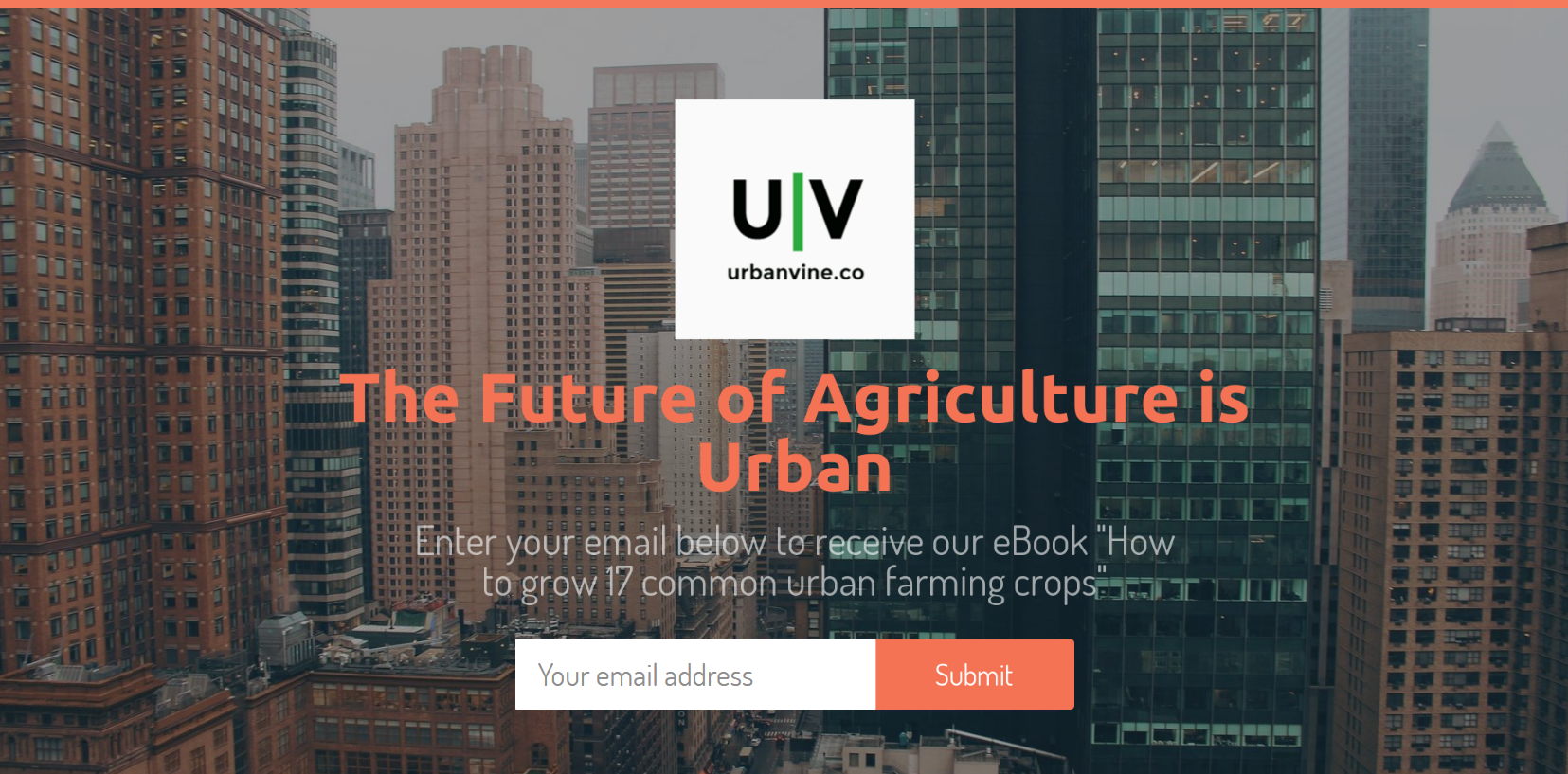 Urban Vine Co Urban Farming