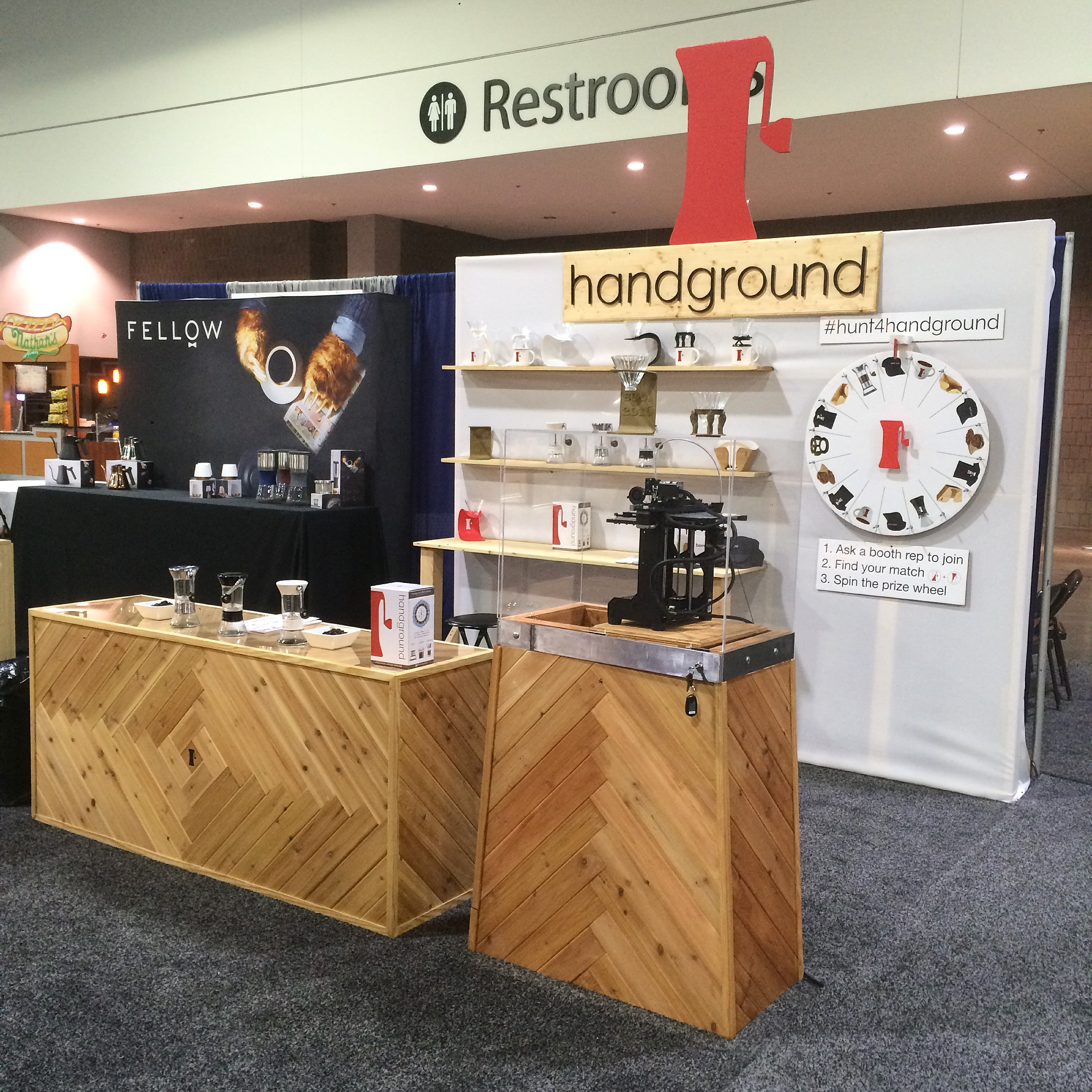 Handground booth at SCAA 2016