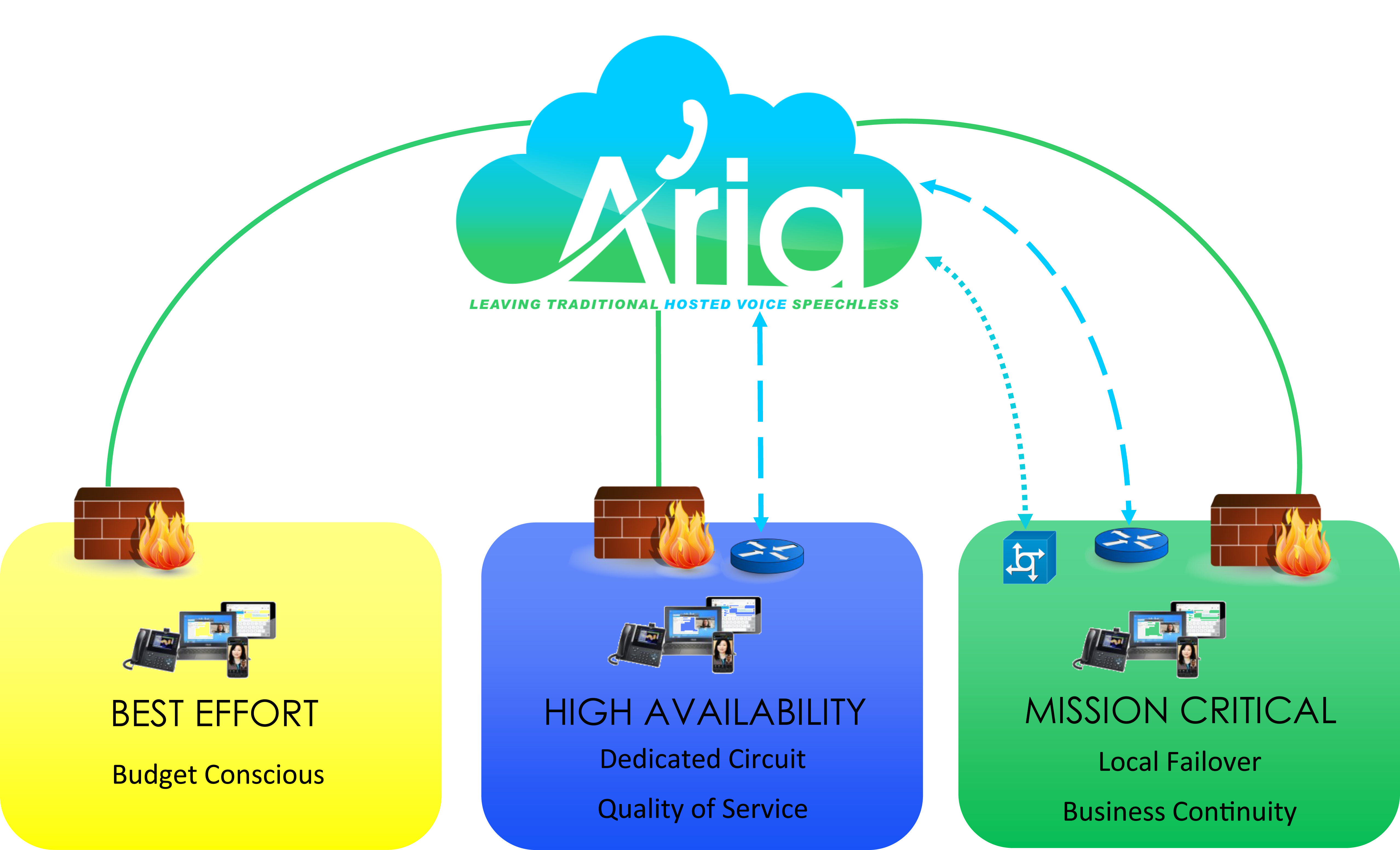Aria Hosted Delivery Model