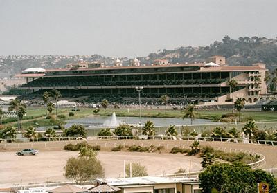 The Del Mar Racetrack Grandstand