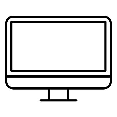 Image of a computer icon for Web Design services