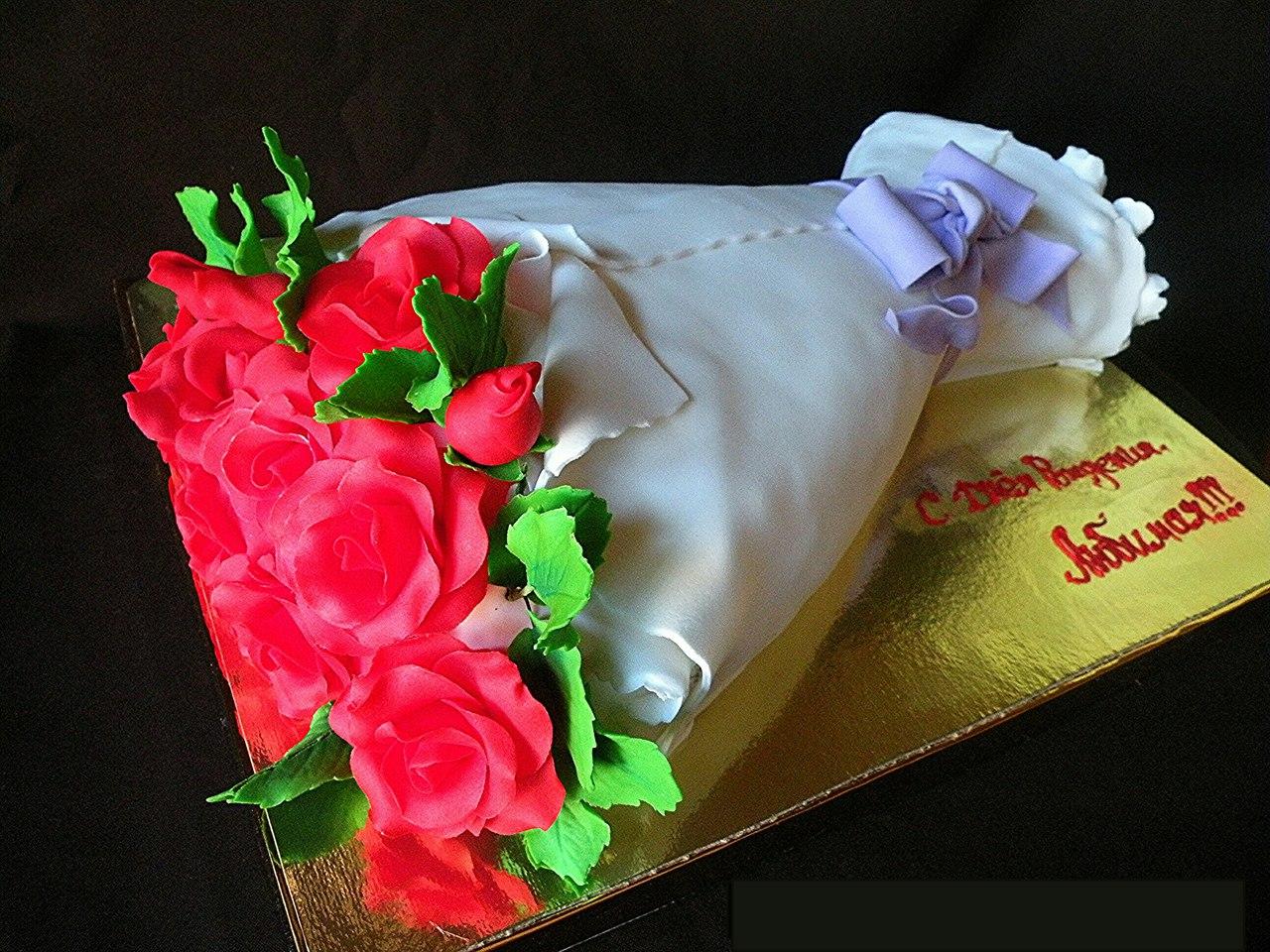 картинки торт в виде букета роз время имидж