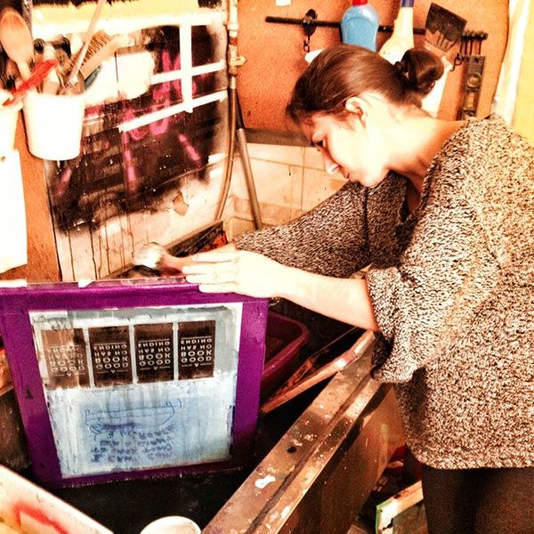 Kafkalı serigrafi yaptım ve çerçeve temizlemeyi öğrendim!