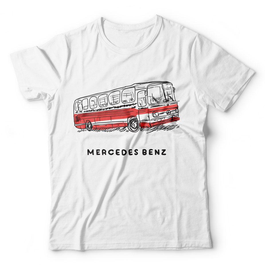 Mercedes Benz için tasarım tişörtler