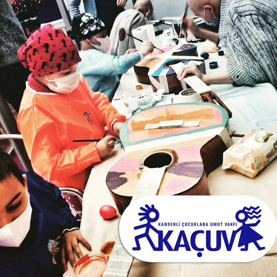 KAÇUV ile gitar boyaması