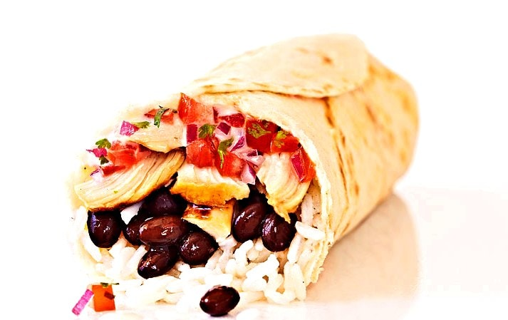 Chicken's Road Burritos