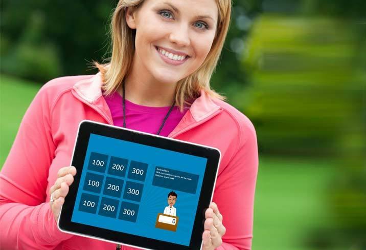 Games on Tablet Device - SmarterU LMS - Blended Learning