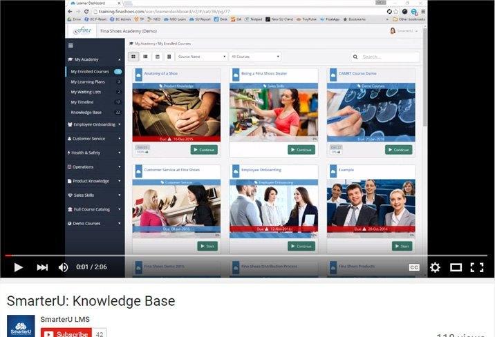 Video Walkthroughs - SmarterU LMS - Learning Management System