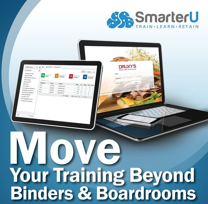 Your Training Beyond Binders & Boardrooms - SmarterU LMS - Blended Learning