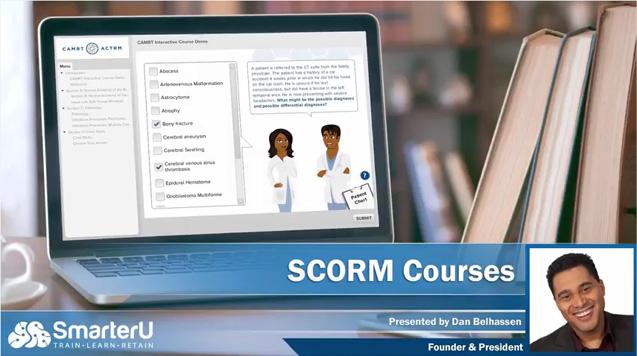 SmarterU LMS SCORM Courses - SmarterU LMS - Blended Learning