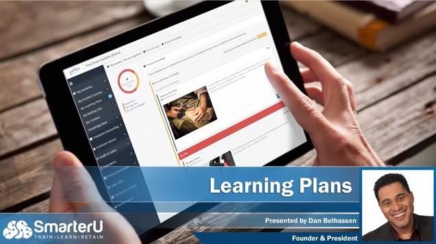 SmarterU LMS Learning Plans - SmarterU LMS - Blended Learning