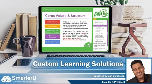 SmarterU LMS Learning Solutions - SmarterU LMS - Online Training Software