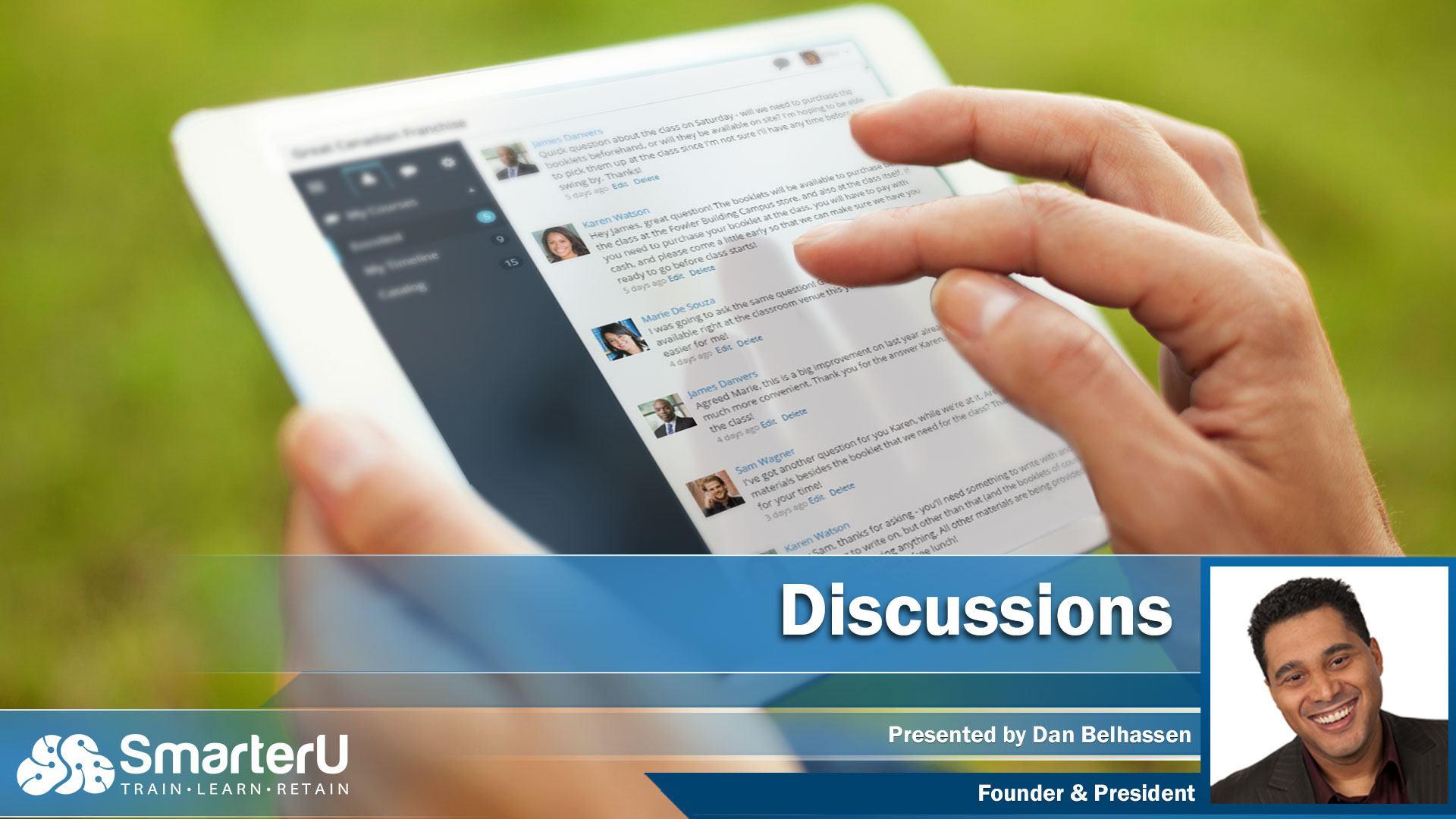 SmarterU LMS Discussion Forums - SmarterU LMS - Online Training Software