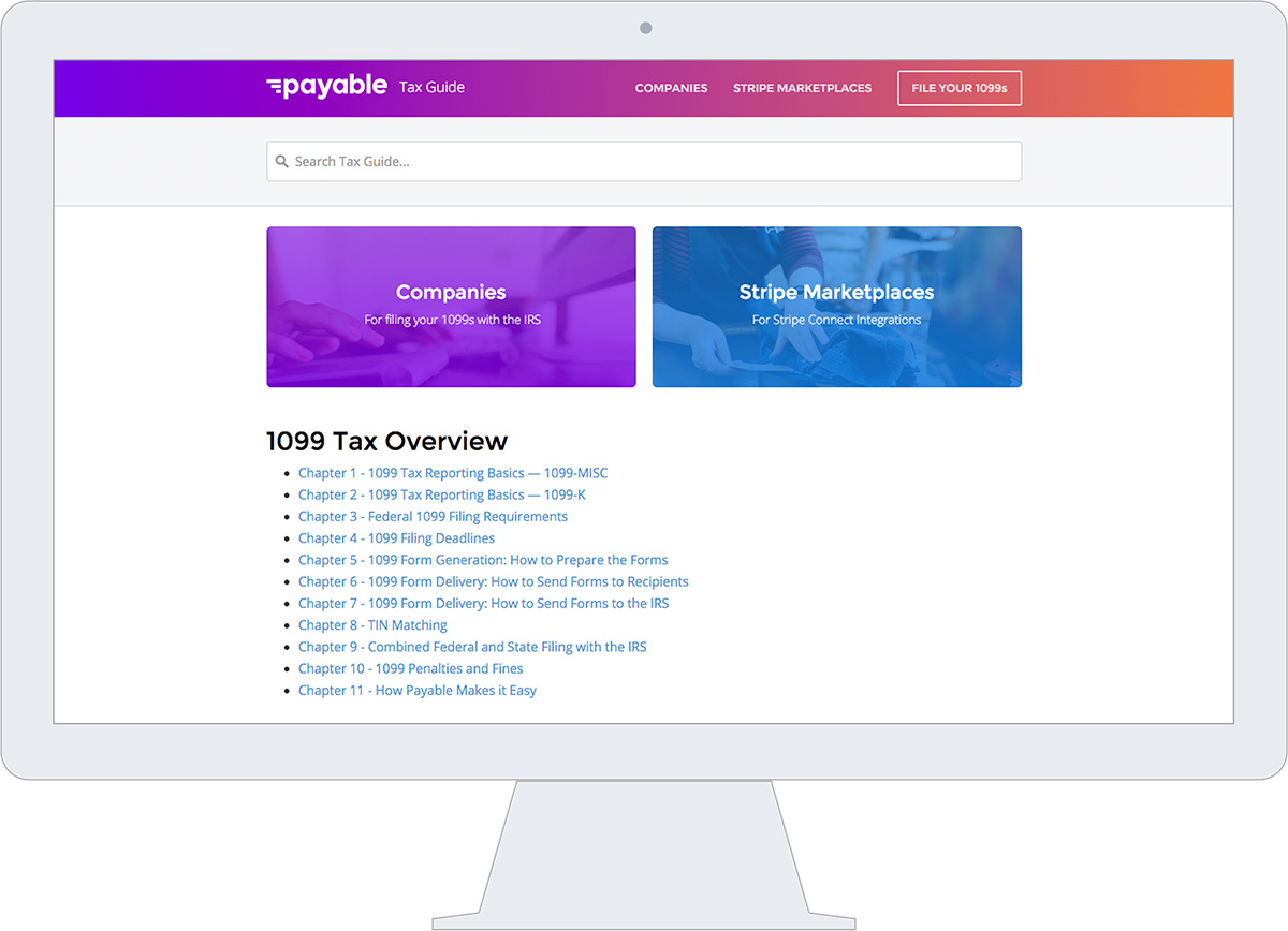 Payable Tax Guide
