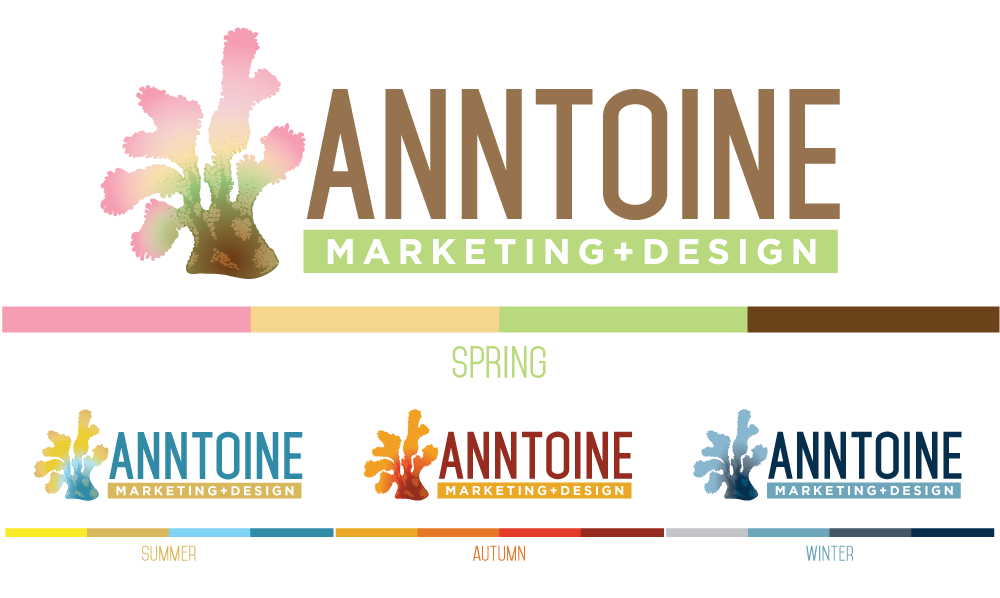 Anntoine Marketing & Design Seasonal Colors