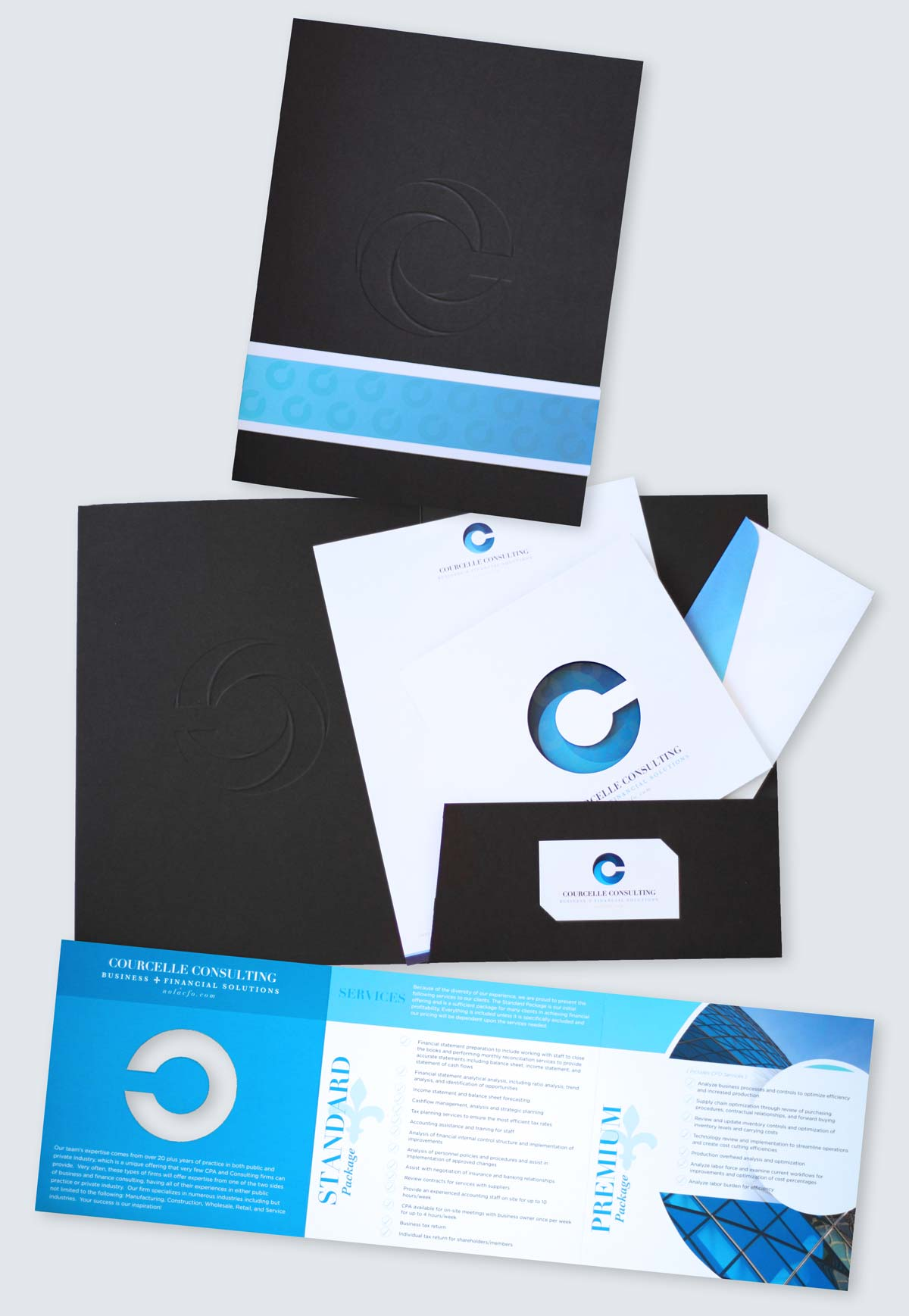 Print Collateral Design Photography