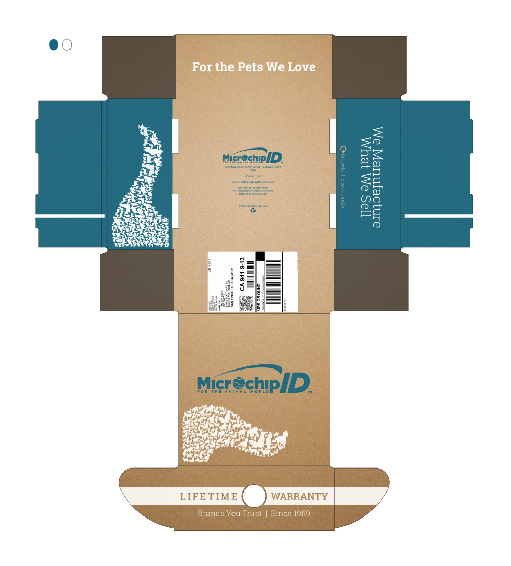Mailer Box Design Mockup 2