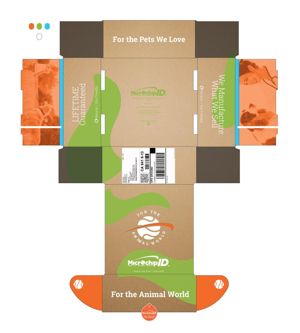 Mailer Box Design Mockup 3
